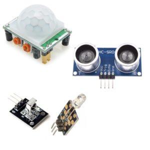 Kustības un attāluma sensori