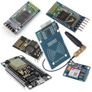 WiFi, Bluetooth, GSM/GPRS, RFID/NFC